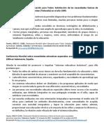 Acuerdos Internacionales y Nac.