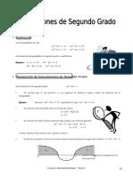 IV BIM - 4to. Año - ALG - Guía 2 - Inec. de Segundo Grado