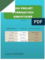 Rapport de Projet Irrigation Groupe 34