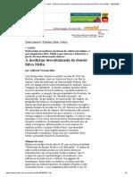 Folha de S.Paulo - + saúde - Gilberto Vasconcellos_ A medicina descolonizada do doutor Silva Mello - 16_04_2000