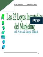 22 Leyes Del Marketing
