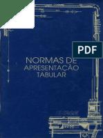 Normas de Apresentação Tabular do IBGE