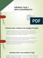 Diseño de Antena Yagi y Logaritmica