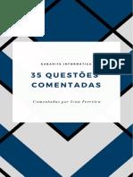 Gabarite Informática - Lista Com 35 Exercícios