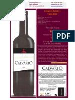 Vinho Tinto Adega do Calvário 2006