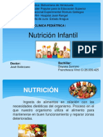 NUTRICION INFANTIL PEDIATRIA