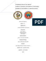 Informe 8 Control Simultaneo de Motores Flores H, Villamarin C, Solis A
