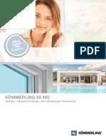 KOEMMERLING 88 Prospekt AluClip 201130372 0618 Web