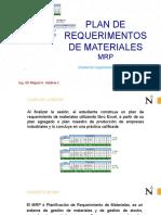 Problemas Propuestos MRP