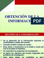 8. Obtencion de La Información