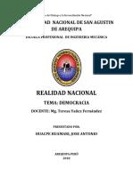 Año Del Dialogo y La Reconciliación Nacional
