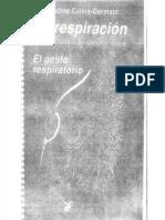 Anatomía Para El Movimiento Tomo IV La Respiración El Gesto Respiratorio Primera Edición Blandine Calais-Germain