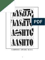 AASHTO - Apunte de La Clase