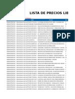 Lista General de Precios 17-06-19