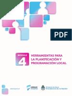 Modulo 4 Herramientas Planificación Programación Local