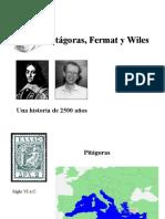 Pitágoras Fermat Wiles