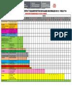 Cronograma de Los JDPEN 2019