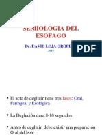 SEMIOLOGIA ESOFAGO 2019