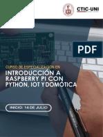 Python y Domotica