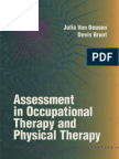 Assessement in Occupational Therapy and Physical Therapy