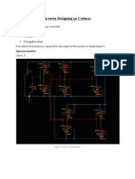 Inverter Designing on Cadence