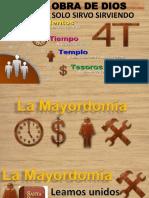 Charla Sobre La Mayordomia