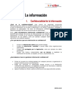 Documento Explicativo Bloque I La Informacion