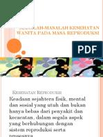 Masalah-masalah Kesehatan Wanita Pada Masa Reproduksi i Dan II p.4