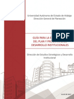 PLAN Guia Programas de Desarrollo