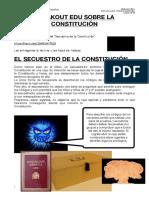 El secuestro de la Constitución solucionario