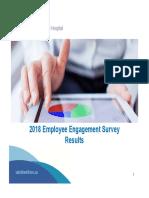 St. Boniface Hospital 2018 Employee Engagement Survey Results