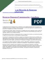 Recursos Humanos_Compensación y Beneficios