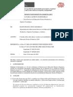 BAJA DE PERFIL CETPRO INFORME N° 005-2019-MINEDU/VMGP-DIGESUTPA-DISERTPA-JMCJ