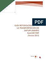GUÍA METODOLÓGICA N° 1_TRANSFORMACIÓN DE DATUM Y CAMBIO DE ZONA GEOGRÁFI...