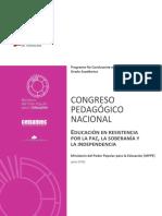 Congreso Pedagogico Nacional