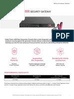 6500 Security Gateway Datasheet