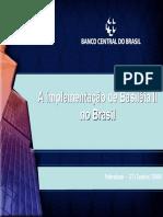 Basileia II + Banco Central