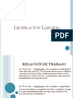 Modalidades Contractuales - Legislacion Laboral