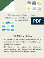 Clima y Suelo