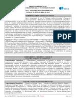 Conteúdo Programático UFBR