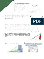 PROBLEMAS SOBRE EL TEOREMA DEL SENO Y EL COSENO 4to.docx