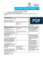 evaluating online sources checklist  2