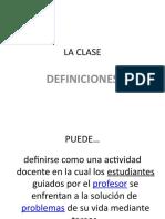 Estructura de Una Clase