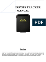 GPS102 B User Manual 20140411