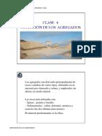 OBTENCION DE AGREGADOS