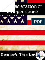Declaration of Independence Readers Theater Freebie