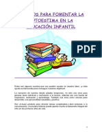 Libros Para Fomentar La Autoestima en La Etapa Infantil