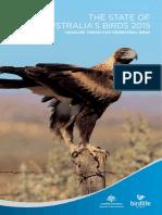Australia Birds SOAB 2015