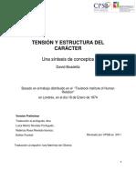 Boadella Tension y Estructura Del Carac (1)