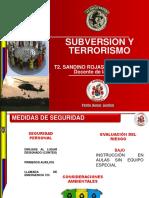 Subversion y Terrorismo